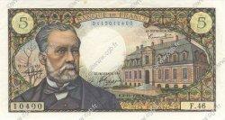 5 Francs PASTEUR FRANCE  1966 F.61.04 SUP+
