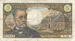5 Francs PASTEUR FRANCE  1967 F.61.06 TB