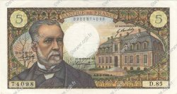 5 Francs PASTEUR FRANCE  1969 F.61.09 pr.SPL