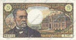 5 Francs PASTEUR FRANCE  1969 F.61.10 pr.SUP