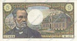 5 Francs PASTEUR FRANCE  1970 F.61.12 TTB à SUP