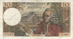 10 Francs VOLTAIRE FRANCE  1970 F.62.47 TB