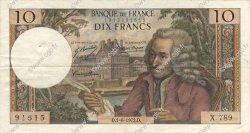 10 Francs VOLTAIRE FRANCE  1972 F.62.57 TTB+