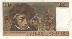 10 Francs BERLIOZ FRANCE  1974 F.63.04 SUP
