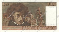 10 Francs BERLIOZ FRANCE  1974 F.63.07b SUP+