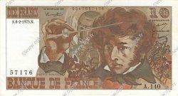 10 Francs BERLIOZ FRANCE  1975 F.63.08 pr.SPL