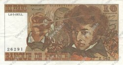 10 Francs BERLIOZ FRANCE  1975 F.63.09 pr.SUP