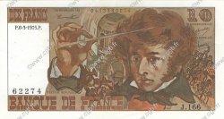 10 Francs BERLIOZ FRANCE  1975 F.63.09 TTB+