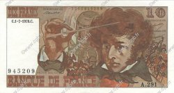 10 Francs BERLIOZ FRANCE  1976 F.63.19 SUP
