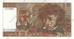 10 Francs BERLIOZ FRANCE  1976 F.63.19 SUP