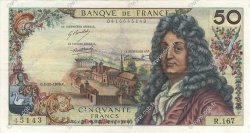 50 Francs RACINE FRANCE  1970 F.64.17 TTB+