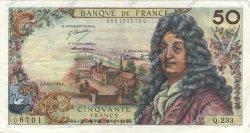 50 Francs RACINE FRANCE  1973 F.64.25 TTB à SUP