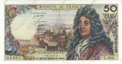 50 Francs RACINE FRANCE  1975 F.64.29 SUP+
