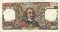 100 Francs CORNEILLE FRANCE  1964 F.65.01 TB