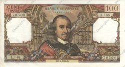 100 Francs CORNEILLE FRANCE  1966 F.65.12 SUP