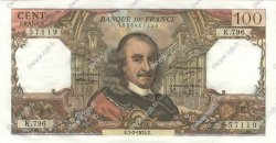 100 Francs CORNEILLE FRANCE  1974 F.65.45 pr.SPL