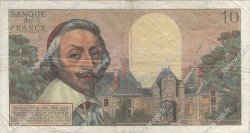 10 Nouveaux Francs RICHELIEU FRANCE  1963 F.57.22 TB à TTB