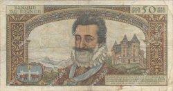 50 Nouveaux Francs HENRI IV FRANCE  1959 F.58.04 B