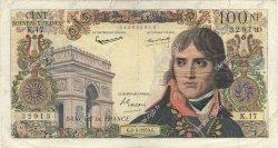 100 Nouveaux Francs BONAPARTE FRANCE  1959 F.59.02 B+