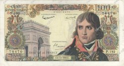 100 Nouveaux Francs BONAPARTE FRANCE  1962 F.59.17 B