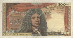 500 Nouveaux Francs MOLIÈRE FRANCE  1964 F.60.06 TB