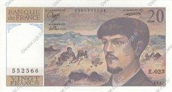 20 Francs DEBUSSY FRANCE  1988 F.66.09 NEUF