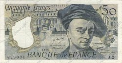 50 Francs QUENTIN DE LA TOUR FRANCE  1976 F.67.01 TTB