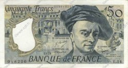 50 Francs QUENTIN DE LA TOUR FRANCE  1979 F.67.04 SUP+