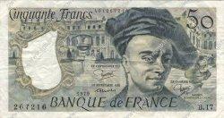 50 Francs QUENTIN DE LA TOUR FRANCE  1979 F.67.05 pr.TTB