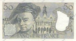 50 Francs QUENTIN DE LA TOUR FRANCE  1980 F.67.06 SUP à SPL