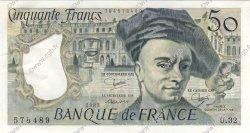 50 Francs QUENTIN DE LA TOUR FRANCE  1983 F.67.09 pr.NEUF