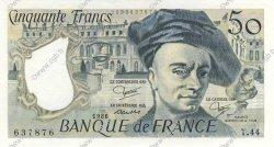 50 Francs QUENTIN DE LA TOUR FRANCE  1986 F.67.12 pr.SPL
