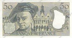 50 Francs QUENTIN DE LA TOUR FRANCE  1989 F.67.15 SPL+