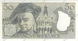 50 Francs QUENTIN DE LA TOUR FRANCE  1989 F.67.15