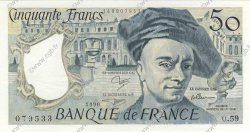 50 Francs QUENTIN DE LA TOUR  FRANCE  1990 F.67.16 SUP+