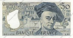 50 Francs QUENTIN DE LA TOUR FRANCE  1990 F.67.16 SPL+