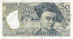 50 Francs QUENTIN DE LA TOUR FRANCE  1992 F.67.18 SUP à SPL