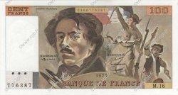 100 Francs DELACROIX modifié FRANCE  1979 F.69.02c NEUF