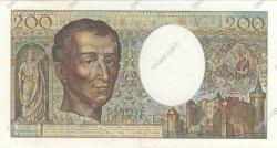 200 Francs MONTESQUIEU FRANCE  1981 F.70.01 SPL