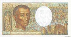 200 Francs MONTESQUIEU FRANCE  1982 F.70.02 SPL+