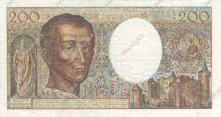200 Francs MONTESQUIEU FRANCE  1985 F.70.05 TTB+