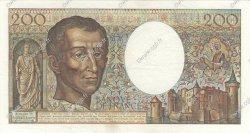200 Francs MONTESQUIEU FRANCE  1985 F.70.05 SUP