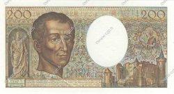 200 Francs MONTESQUIEU FRANCE  1987 F.70.07 NEUF