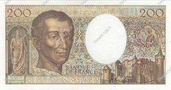 200 Francs MONTESQUIEU FRANCE  1990 F.70.10b SPL+