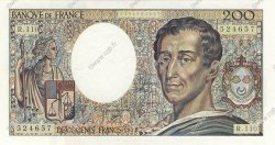200 Francs MONTESQUIEU FRANCE  1992 F.70.12a SUP à SPL