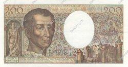 200 Francs MONTESQUIEU FRANCE  1992 F.70.12c SUP+