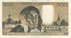 500 Francs PASCAL FRANCE  1968 F.71.02 SUP