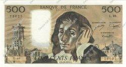 500 Francs PASCAL FRANCE  1974 F.71.12 pr.NEUF