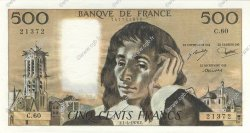 500 Francs PASCAL FRANCE  1976 F.71.14 SPL