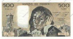 500 Francs PASCAL FRANCE  1985 F.71.32 NEUF